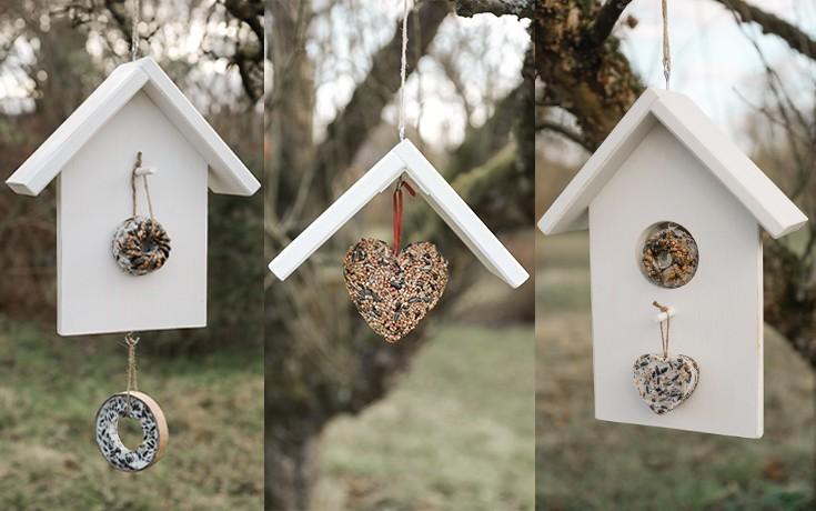 DIY: Vogelhäuschen selber machen  Home vogelfutterhuschen