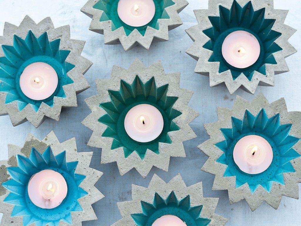 beton gießen diy Beton gießen DIY: Tolle Trittplatten, Windlichter & mehr selbst gemacht beton gieen windlicht  1024x768
