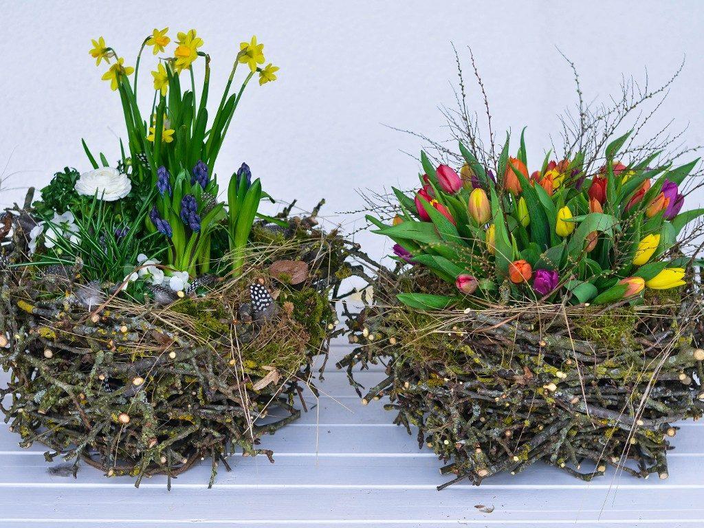 osterdeko diy Osterdeko DIY: Erstelle dein XXL-Nest aus Zweigen und Frühlingsblumen nest aus zweigen beidevarianten 1024x768