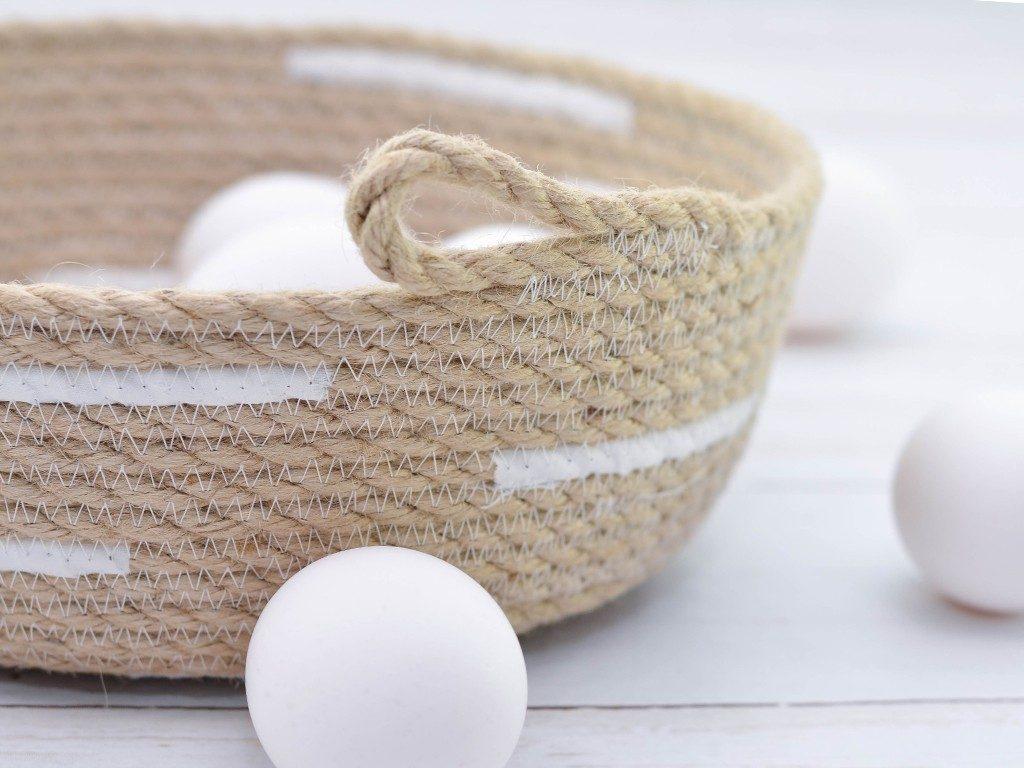 rope bowl diy Rope Bowl DIY: Die Schritt-für-Schritt Anleitung für deinen ersten Seilkorb ropebowl sisal griff eier  1024x768