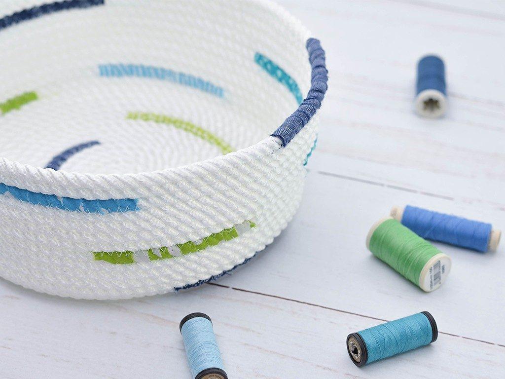 rope bowl diy Rope Bowl DIY: Die Schritt-für-Schritt Anleitung für deinen ersten Seilkorb ropebowl wei stoff  1024x768