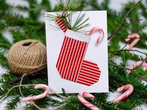 eigene weihnachtskarten Bastele deine eigenen Weihnachtskarten mit diesem DIY weihnachtskarten 2018 2  300x225