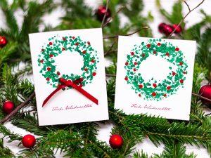 eigene weihnachtskarten Bastele deine eigenen Weihnachtskarten mit diesem DIY weihnachtskarten 2018 3  300x225