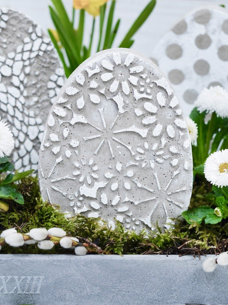 beton-eier und gießform DIY Osterdeko: Beton-Eier und Gießform selbst machen betoneier gieform selber bauen silikonmatte 1 1 768x1024