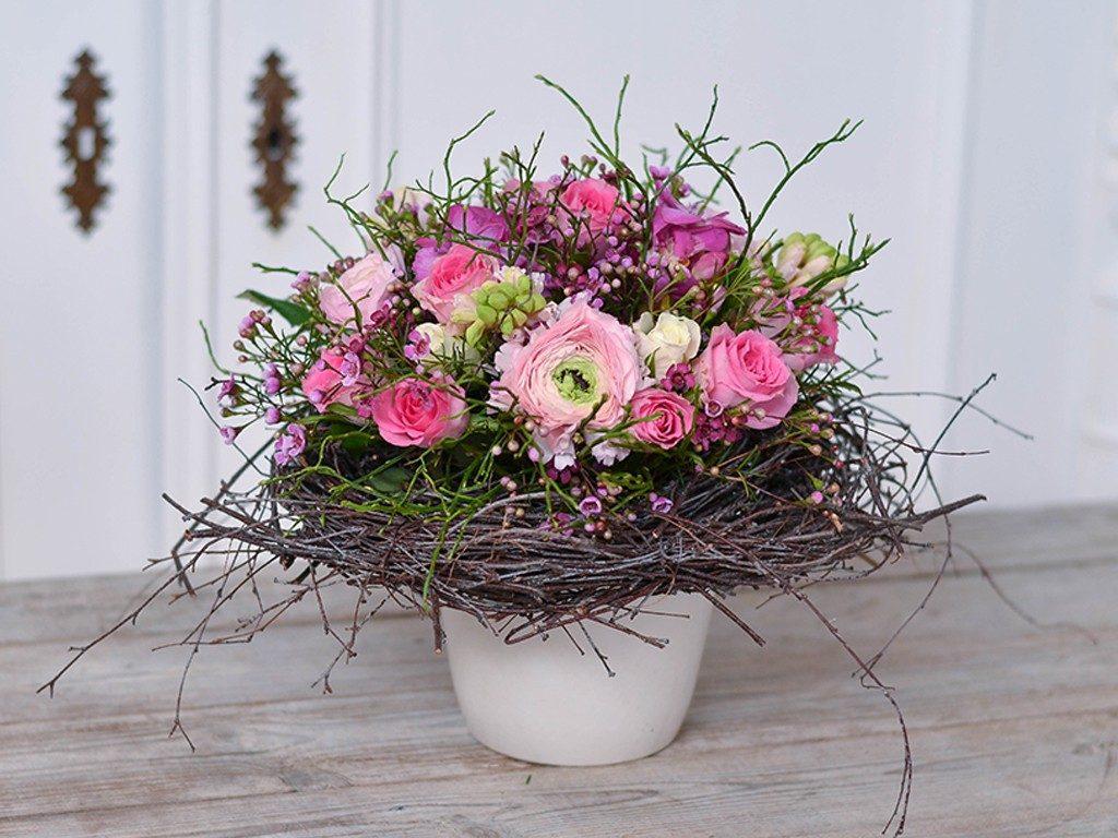 selbst gemachter blumenstrauß DIY: Verschenke einen selbst gemachten Blumenstrauß wie vom Floristen blumenstrau frhling 1 1024x768