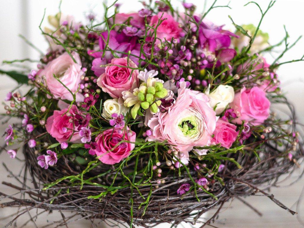 selbst gemachter blumenstrauß DIY: Verschenke einen selbst gemachten Blumenstrauß wie vom Floristen blumenstrau frhling detail  1024x768