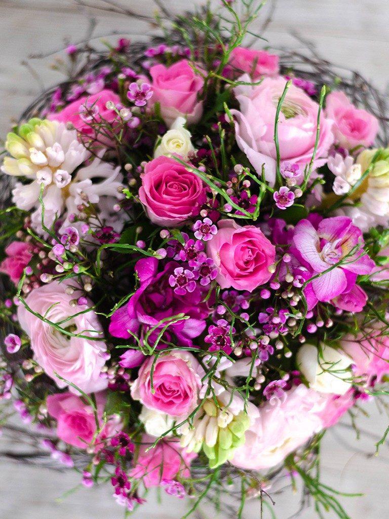 selbst gemachter blumenstrauß DIY: Verschenke einen selbst gemachten Blumenstrauß wie vom Floristen blumenstrau frhling oben  768x1024