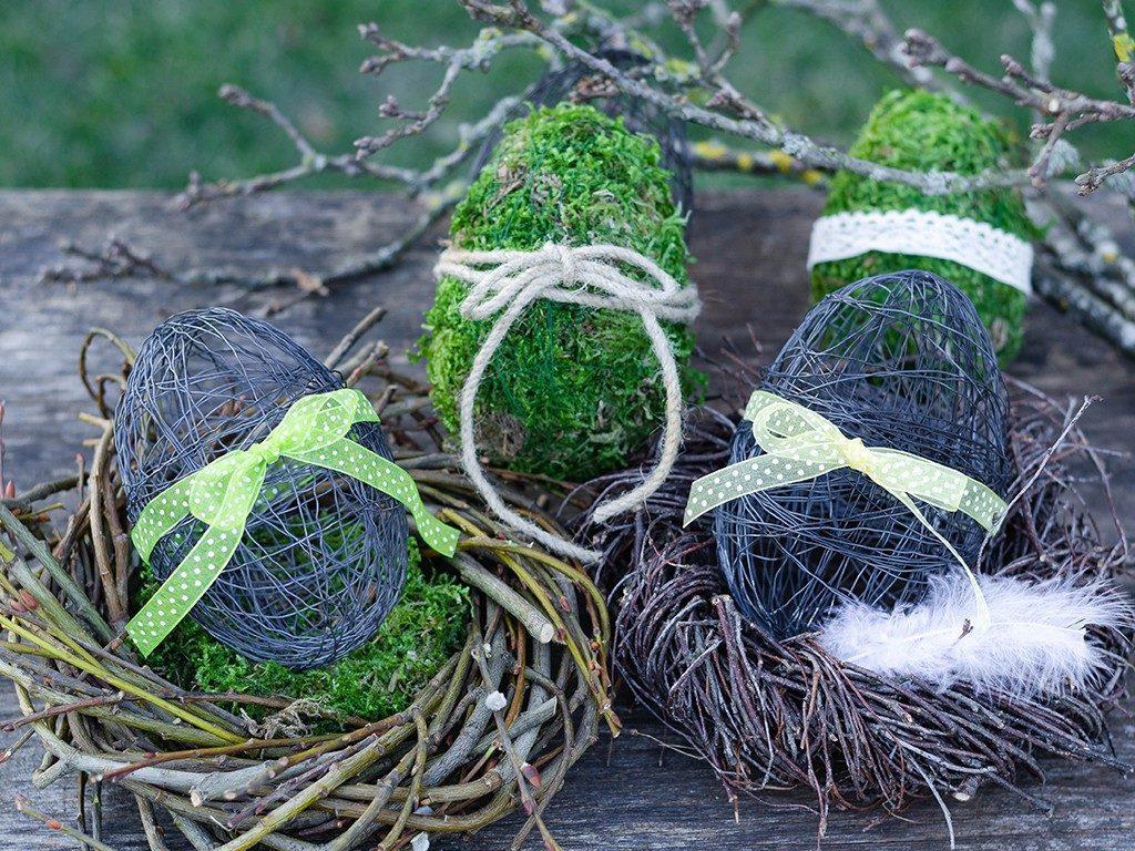 osterdeko diy Osterdeko DIY: Eier aus Moos & Draht und Birkenkranz eier moos draht  1 1024x768
