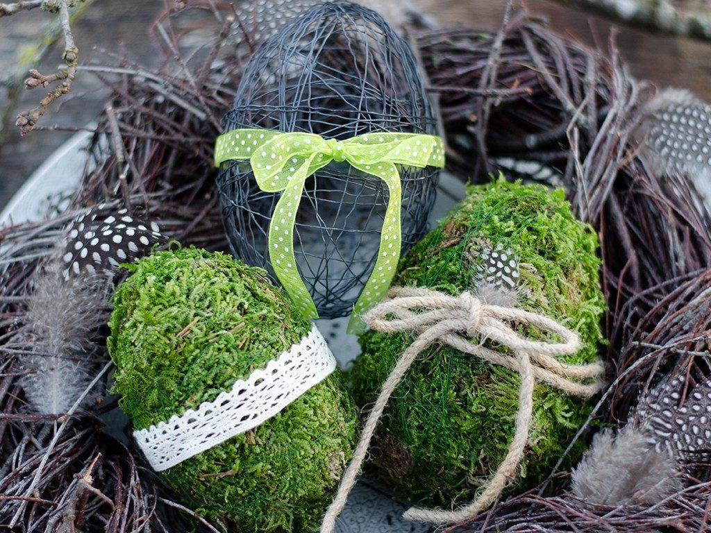 osterdeko diy Osterdeko DIY: Eier aus Moos & Draht und Birkenkranz eier moos draht detail 1 1024x768