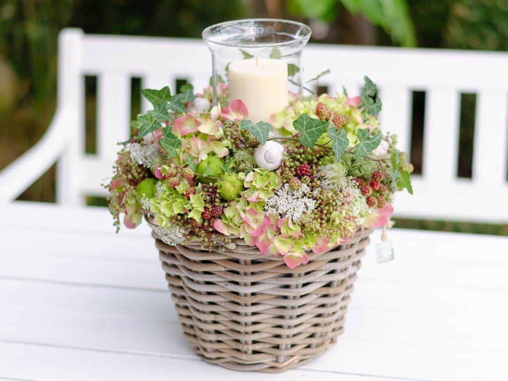 diy-hochzeitsgeschenk DIY-Hochzeitsgeschenk: Windlicht mit Hortensien, Beeren und Blüten windlicht hortensien beeren rot 1 1024x768