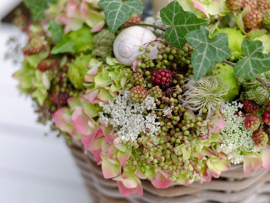 diy-hochzeitsgeschenk DIY-Hochzeitsgeschenk: Windlicht mit Hortensien, Beeren und Blüten windlicht hortensien beeren rot detail 2 1024x768