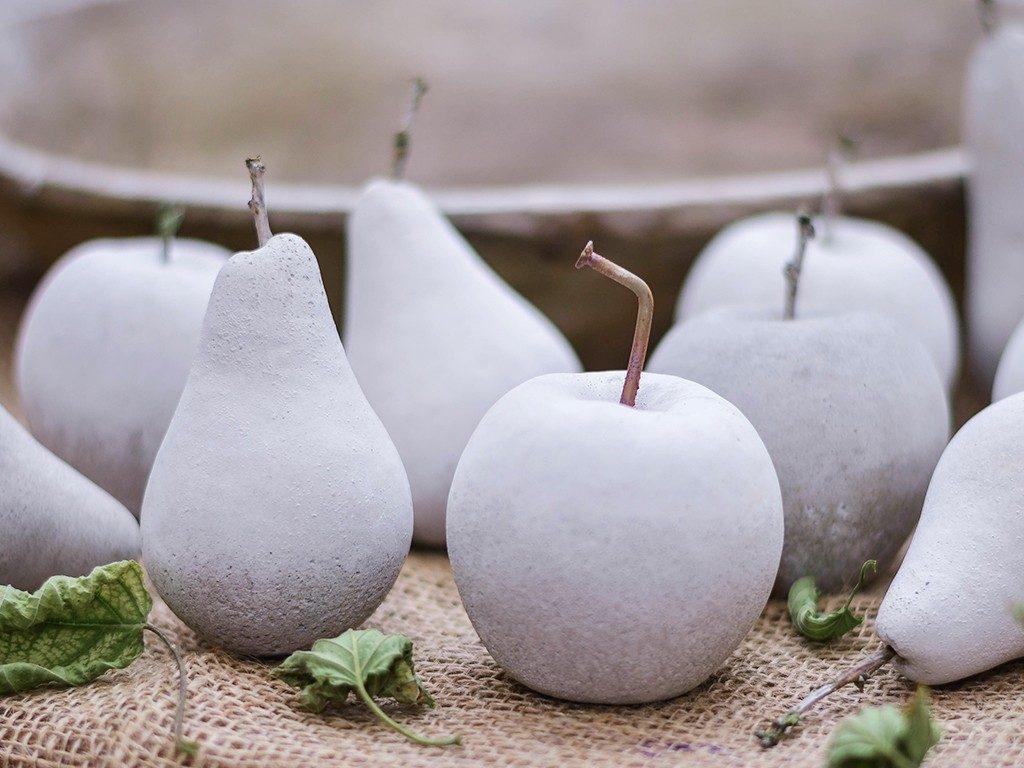 früchte aus beton Herbstdeko DIY: Früchte aus Beton mithilfe von Abform-Silikon betonfruechte abformsilikon 8 1024x768