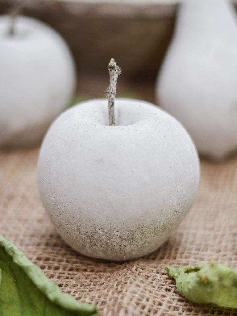 früchte aus beton Herbstdeko DIY: Früchte aus Beton mithilfe von Abform-Silikon betonfruechte abformsilikon apfel 2 768x1024
