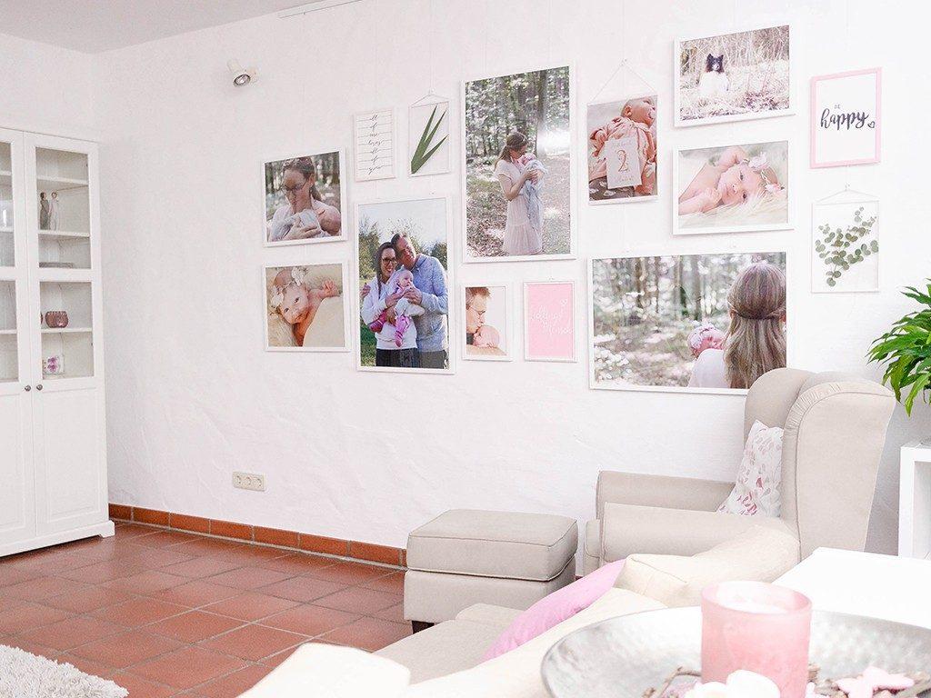 wohnzimmer makeover Gewinnerprojekt Wohnzimmer Makeover: Eine Gallery Wall selbst erstellen gallerywall 1024x768