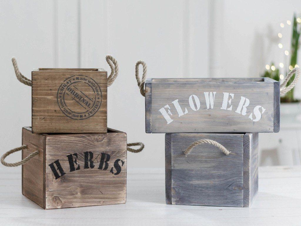 holzkiste mit seilgriff DIY: Holzkiste mit Seilgriff aus einfachen Baumarktbrettern holzkiste mit seilgriffen 2 1024x768