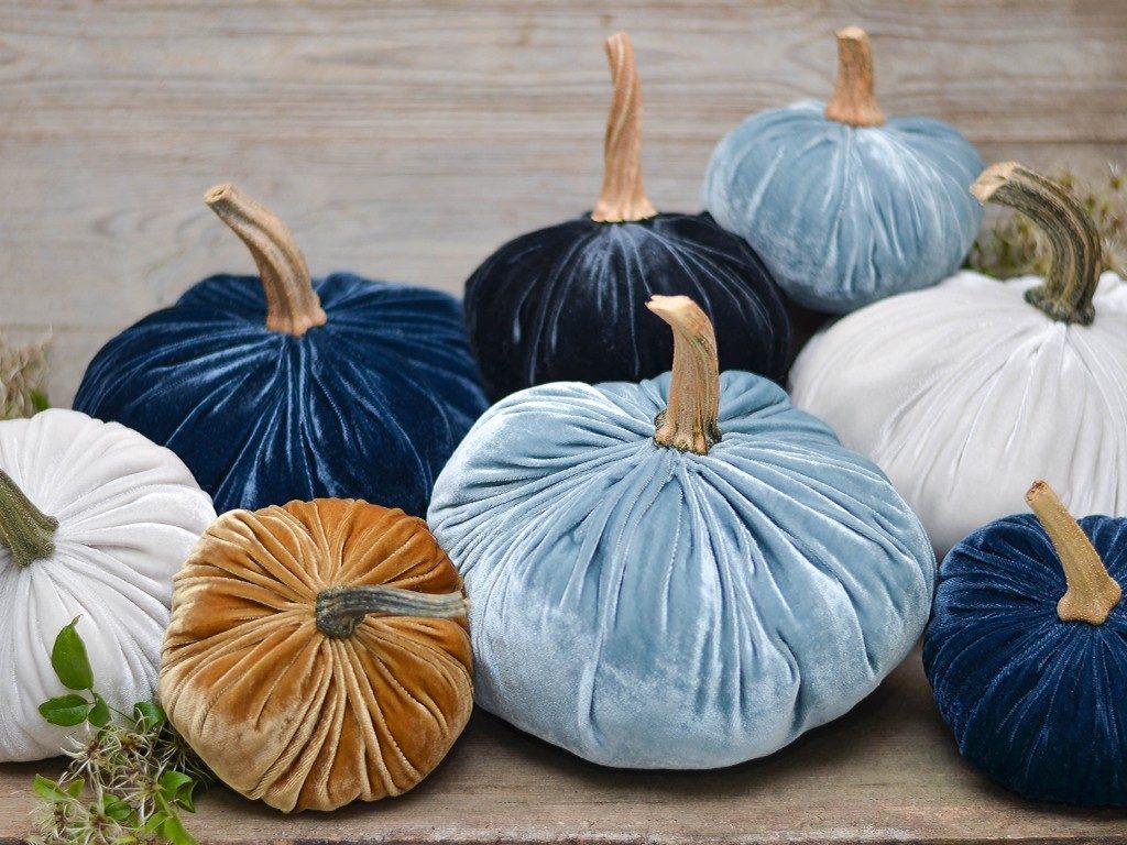 kürbisse aus samt Herbstdeko DIY: Wie du Kürbisse aus Samt selbst machst kuerbisse aus samt 1 1024x768