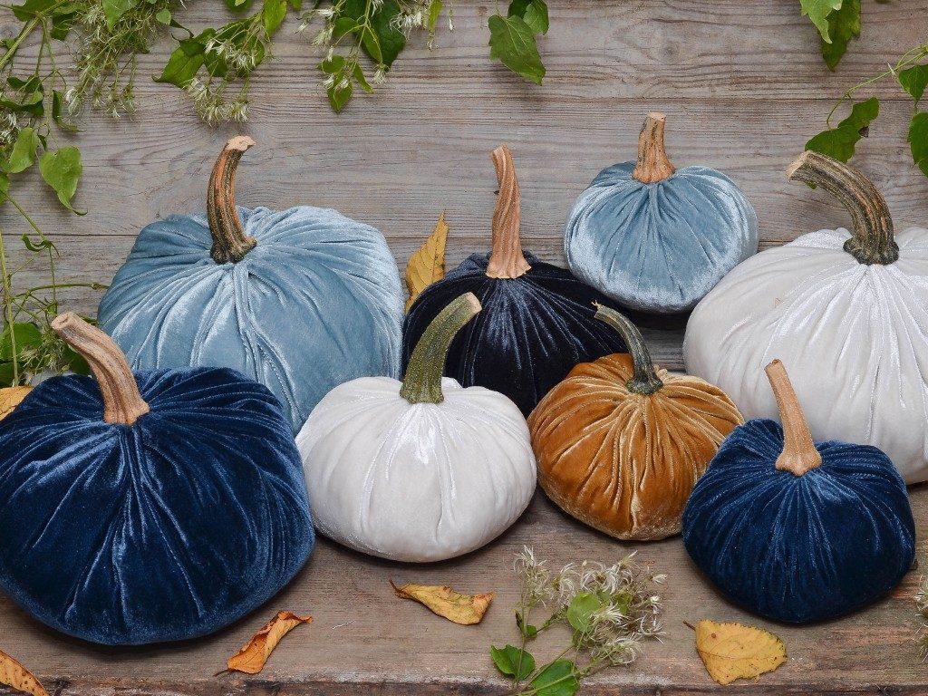 kürbisse aus samt Herbstdeko DIY: Wie du Kürbisse aus Samt selbst machst kuerbisse aus samt 13 1024x768
