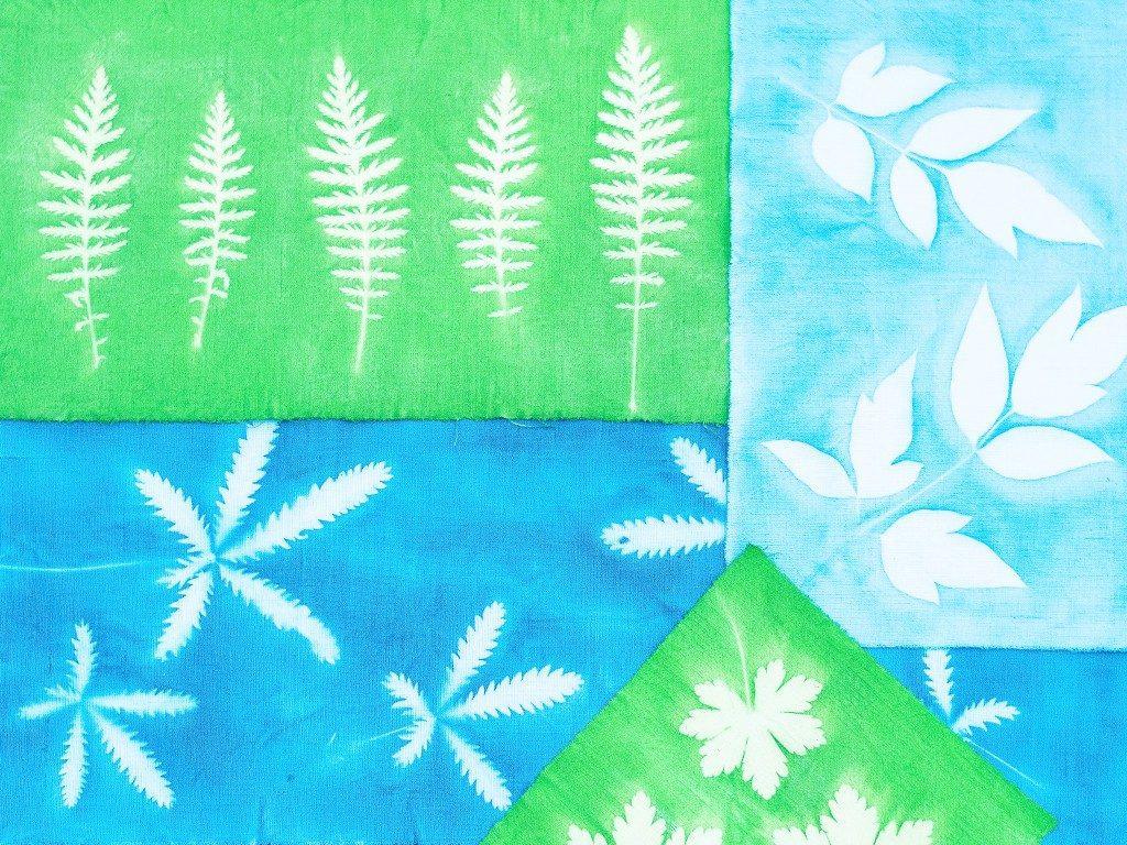 sunprint diy Sunprint DIY: So bedruckst du Kissenhüllen & andere Stoffe mit Blättern sunprint  1024x768