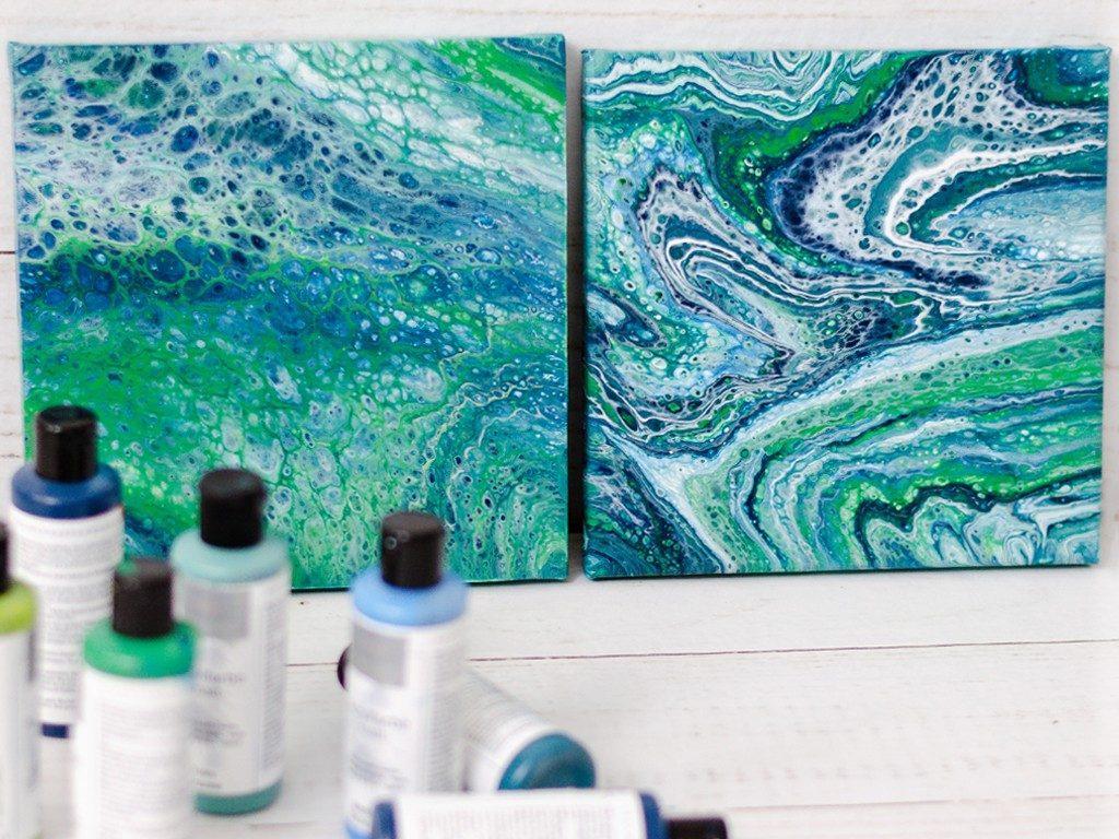 Acrylic Pouring: Anleitung für Einsteiger, Tipps und Tricks acryl pouring 29 1024x768