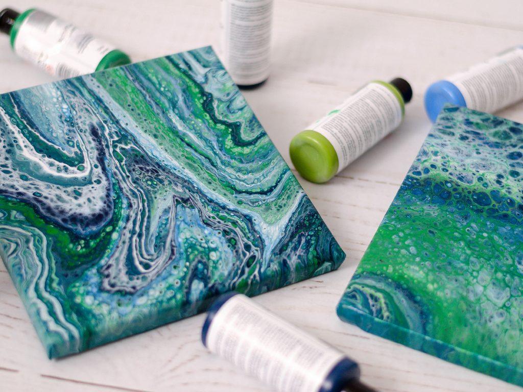 Acrylic Pouring: Anleitung für Einsteiger, Tipps und Tricks acrylic pouring 10 1024x768