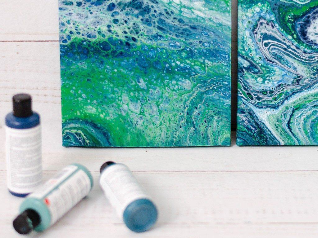 Acrylic Pouring: Anleitung für Einsteiger, Tipps und Tricks acrylic pouring 15 1024x768