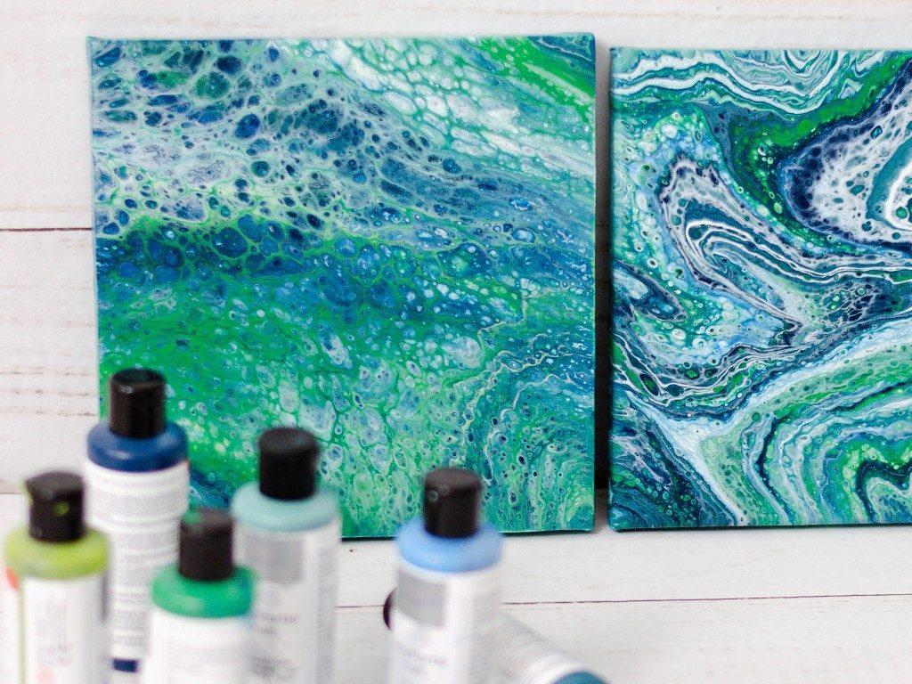 Acrylic Pouring: Anleitung für Einsteiger, Tipps und Tricks acrylic pouring 16 1024x768