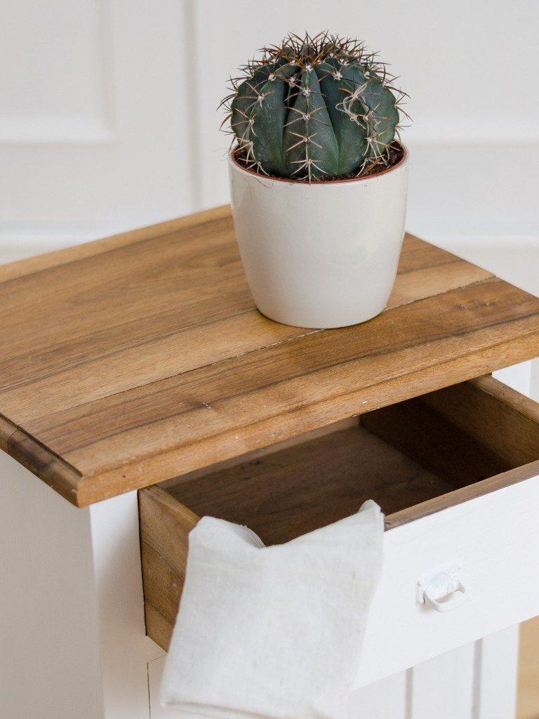 Möbel upcyceln: Schränkchen mit Kreidefarbe streichen, Holzplatte ölen schraenkchen streichen holzplatte len 26 768x1024
