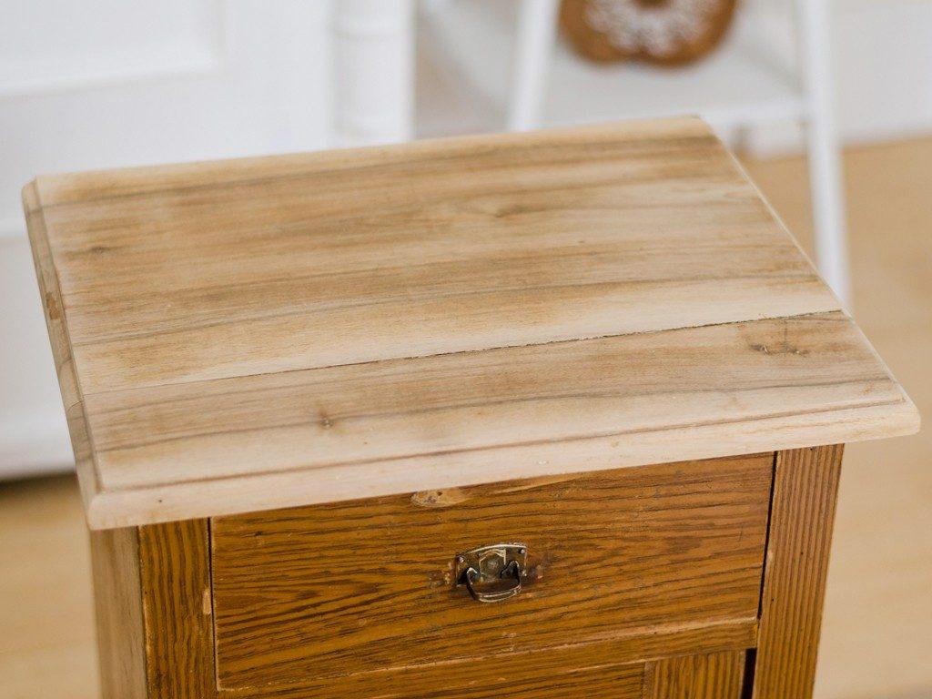 Möbel upcyceln: Schränkchen mit Kreidefarbe streichen, Holzplatte ölen schraenkchen streichen holzplatte len 4 1024x768