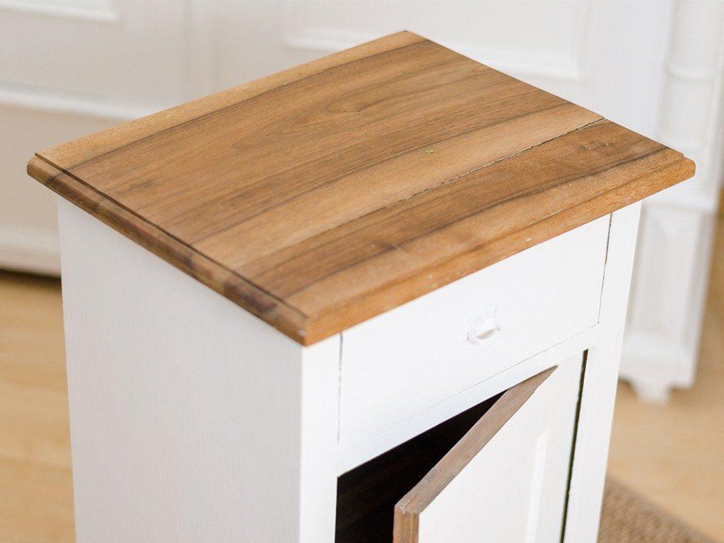 Möbel upcyceln: Schränkchen mit Kreidefarbe streichen, Holzplatte ölen schraenkchen streichen holzplatte len 7 1024x768