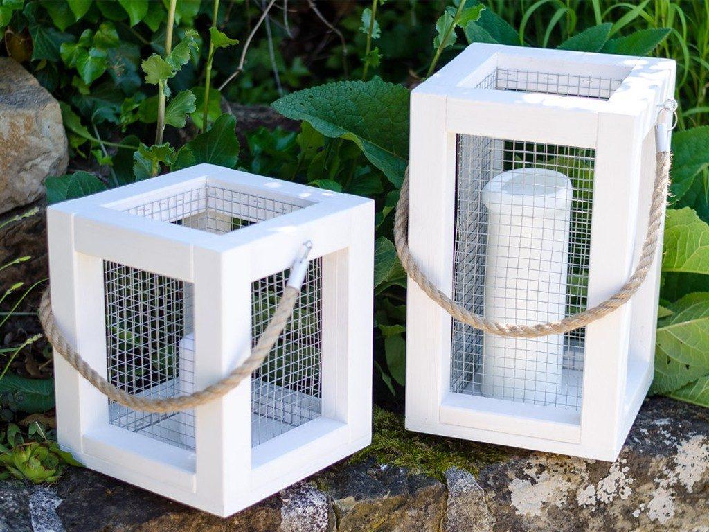 laterne aus holz selber machen  DIY: Holzlaterne für deine Sommerdeko selber machen laterne aus holz 10 1024x768