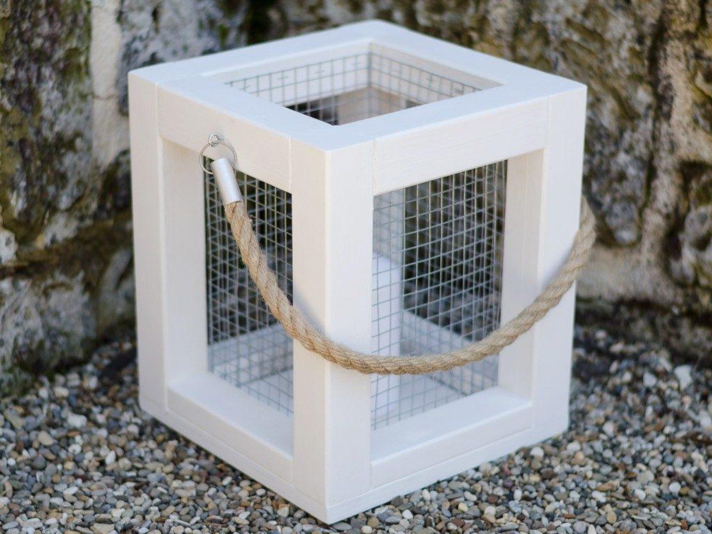 laterne aus holz selber machen  DIY: Holzlaterne für deine Sommerdeko selber machen laterne aus holz 12 1024x768