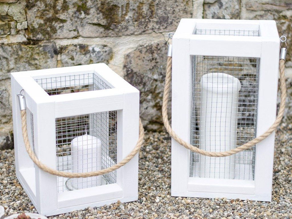 Laterne aus Holz selber machen  DIY: Holzlaterne für deine Sommerdeko selber machen laterne aus holz 3 1024x768