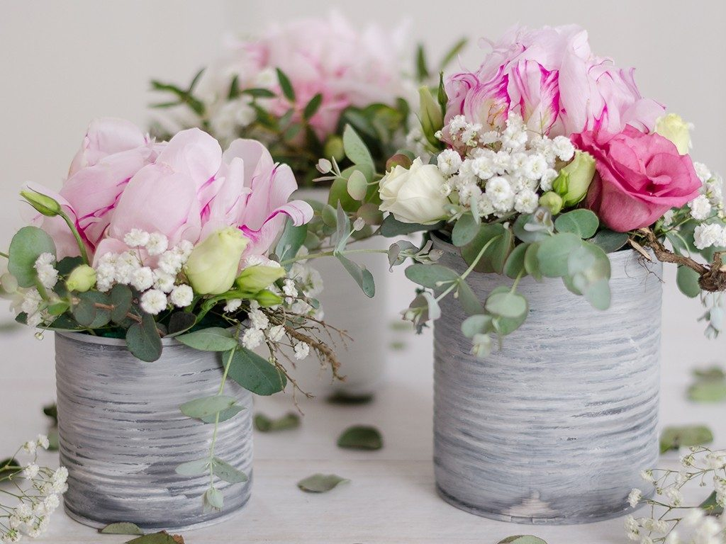 DIY: Sommerlich romantische Dekoidee mit Pfingstrosen tischdeko pfingstrosen 20 1024x768