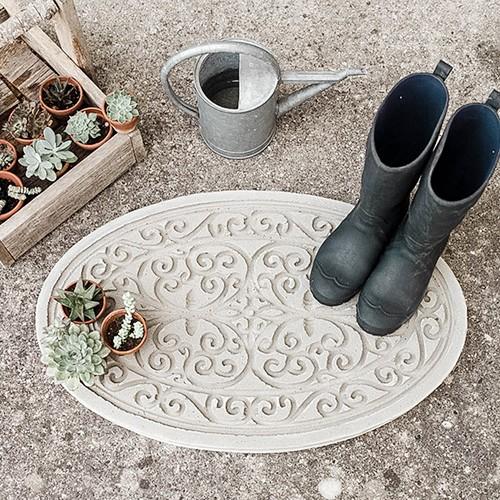DIY-Trittplatte aus Beton gießen  Home trittplatte aus beton 1