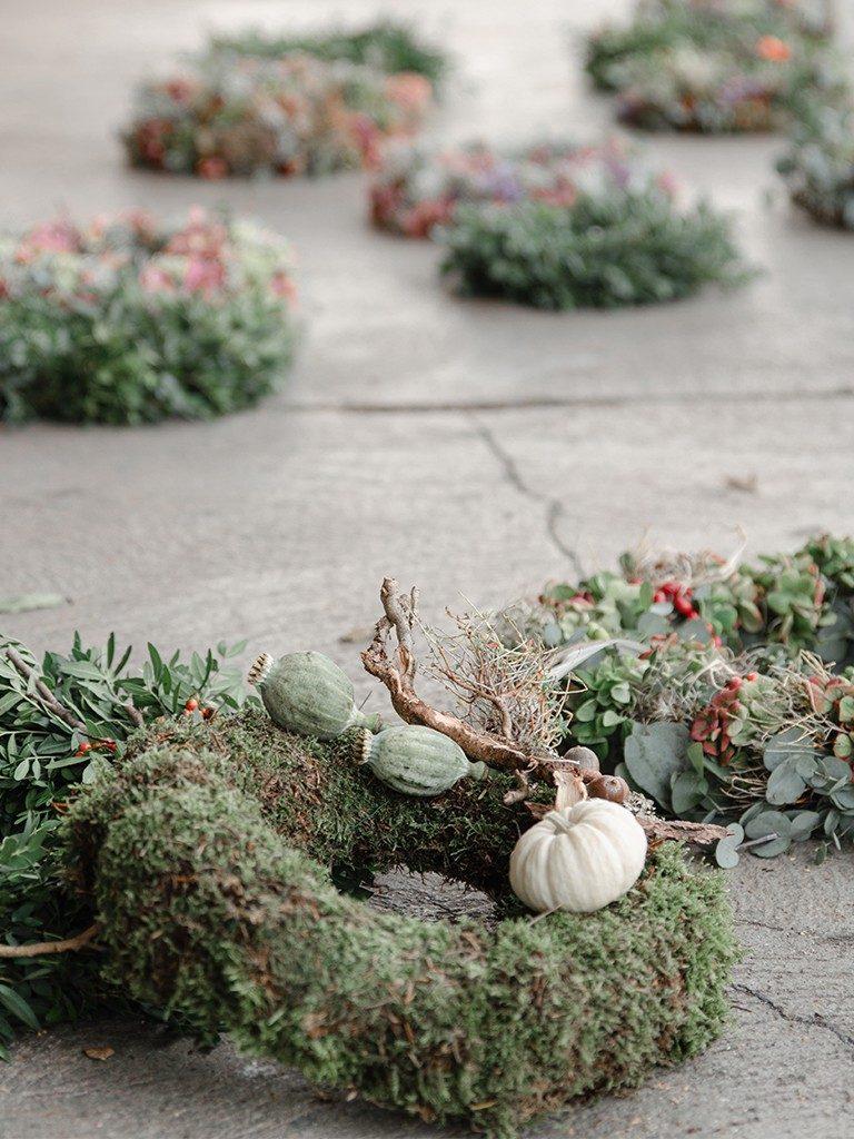 Workshop Herbstkränze binden-Einblick und Rückblick