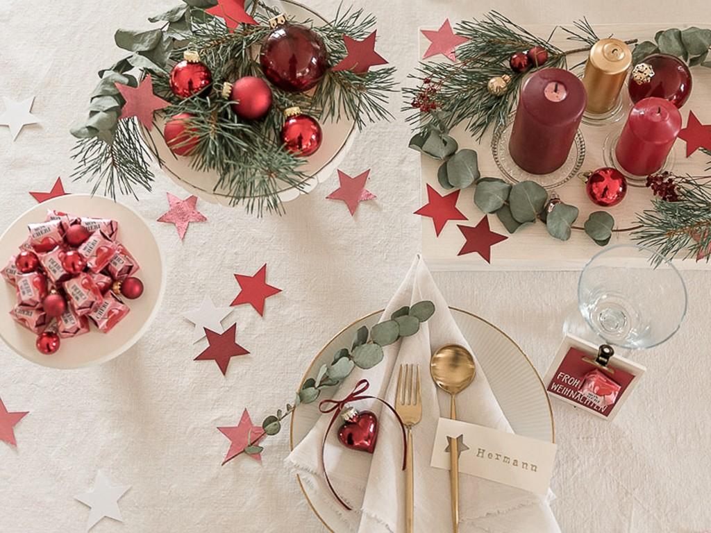 6 DIY-Ideen für Tischdeko Weihnachten [object object] DIY: festliche Tischdeko für deine Weihnachtstafel tischdeko weihnachten 31