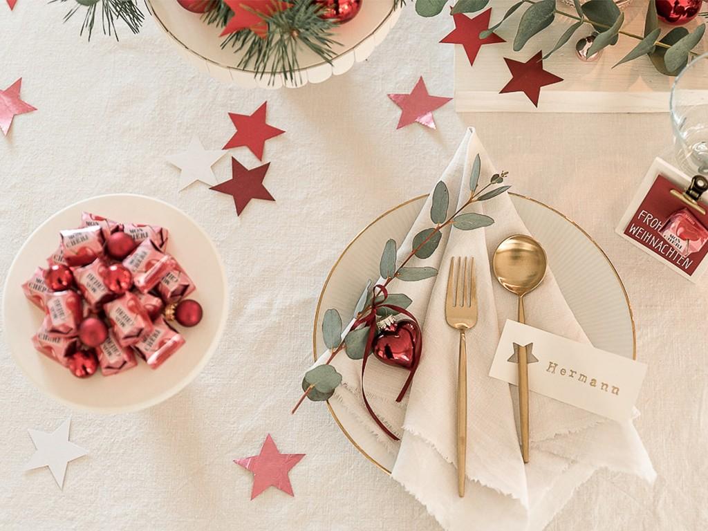 6 DIY-Ideen für Tischdeko Weihnachten [object object] DIY: festliche Tischdeko für deine Weihnachtstafel tischdeko weihnachten 38