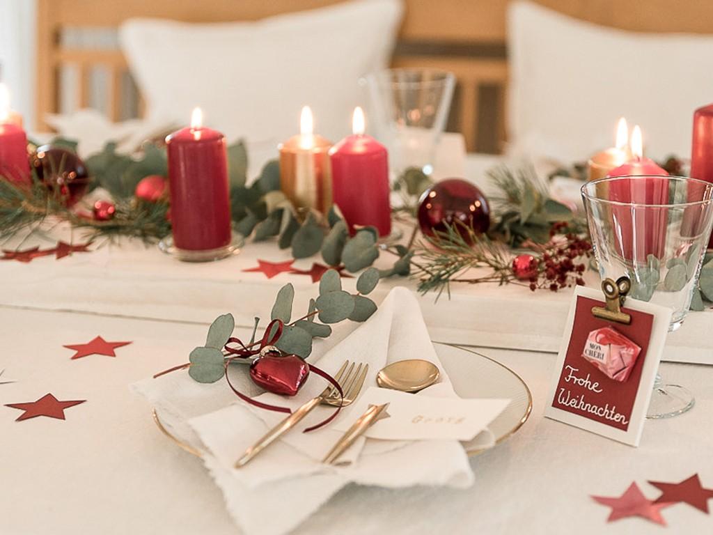 6 DIY-Ideen für Tischdeko Weihnachten [object object] DIY: festliche Tischdeko für deine Weihnachtstafel tischdeko weihnachten 41