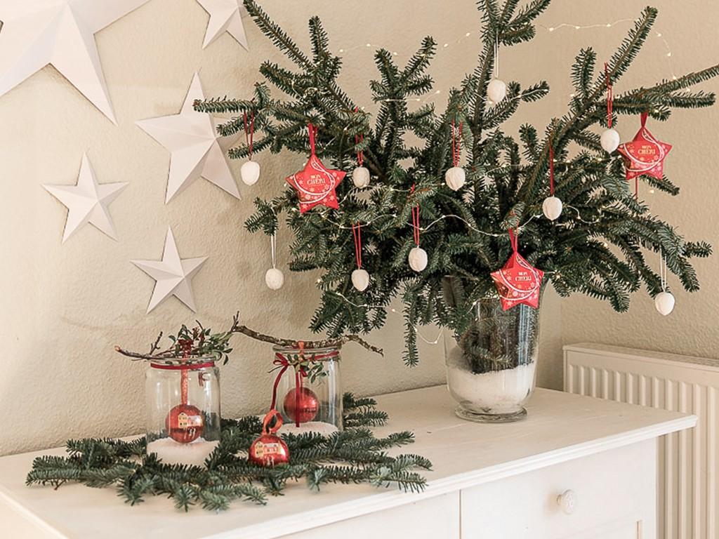 6 DIY-Ideen für Tischdeko Weihnachten [object object] DIY: festliche Tischdeko für deine Weihnachtstafel tischdeko weihnachten 43