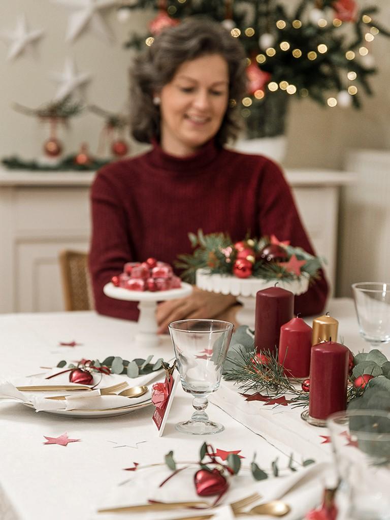 6 DIY-Ideen für Tischdeko Weihnachten [object object] DIY: festliche Tischdeko für deine Weihnachtstafel tischdeko weihnachten
