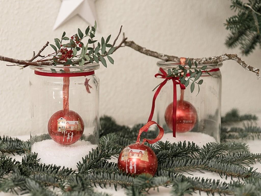 6 DIY-Ideen für Tischdeko Weihnachten [object object] DIY: festliche Tischdeko für deine Weihnachtstafel tischdeko weihnachten 48