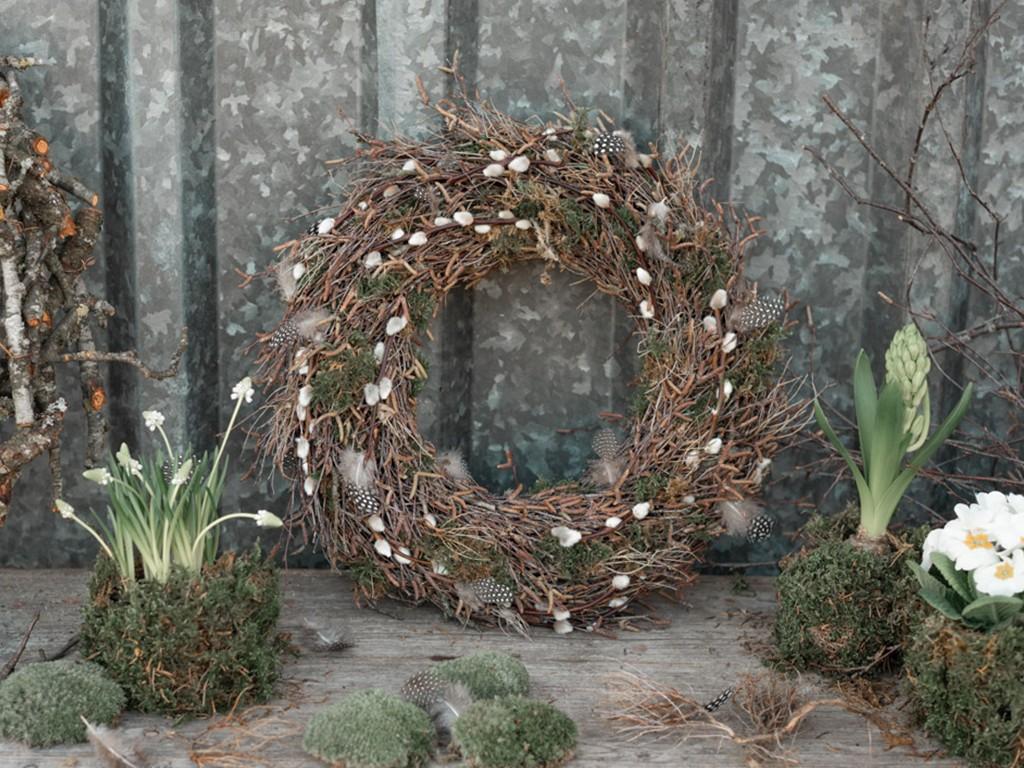 Kranz aus Birkenzweigen [object object] Den perfekten Frühlingskranz aus Zweigen binden, so bekommst Du´s hin kranz aus birkenzweigen 10