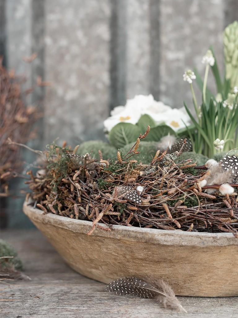 DIY: Kranz aus Birkenzweigen binden [object object] Den perfekten Frühlingskranz aus Zweigen binden, so bekommst Du´s hin kranz aus birkenzweigen 70