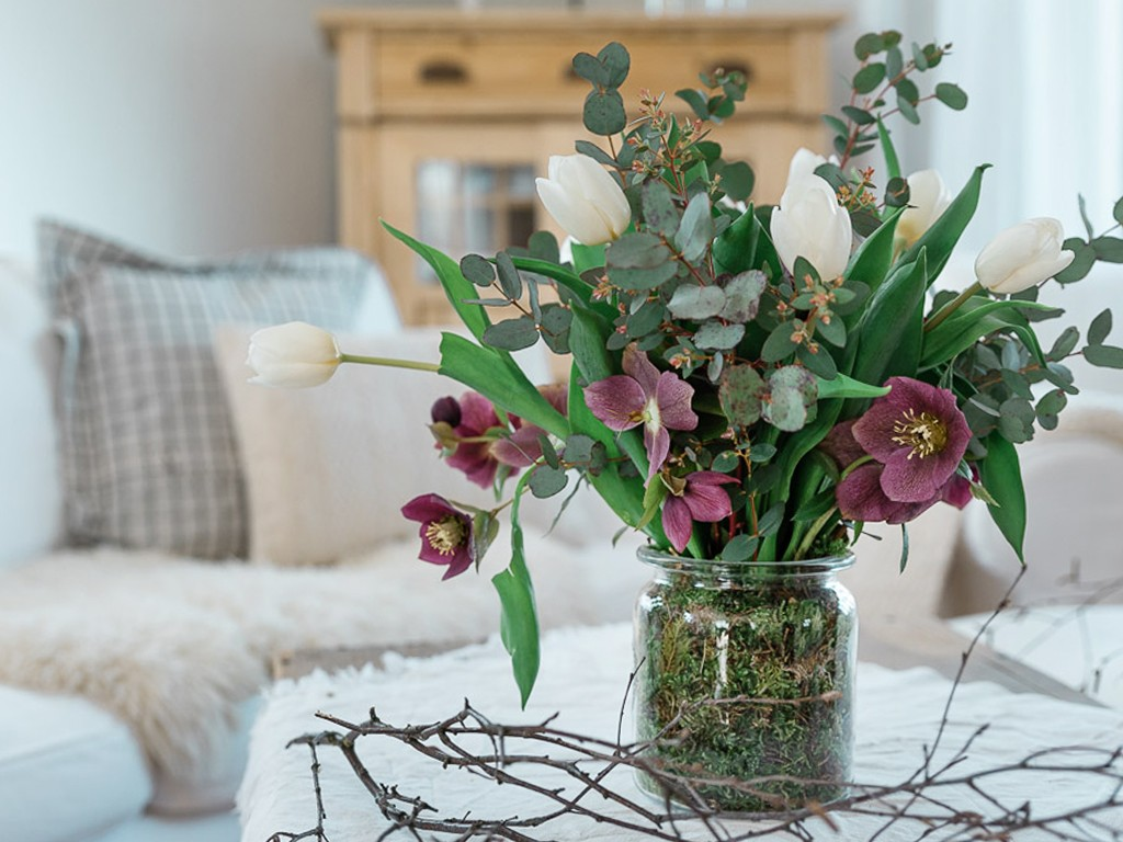Vase in Vase Deko. DIY Ideen für deine Frühlingsdeko