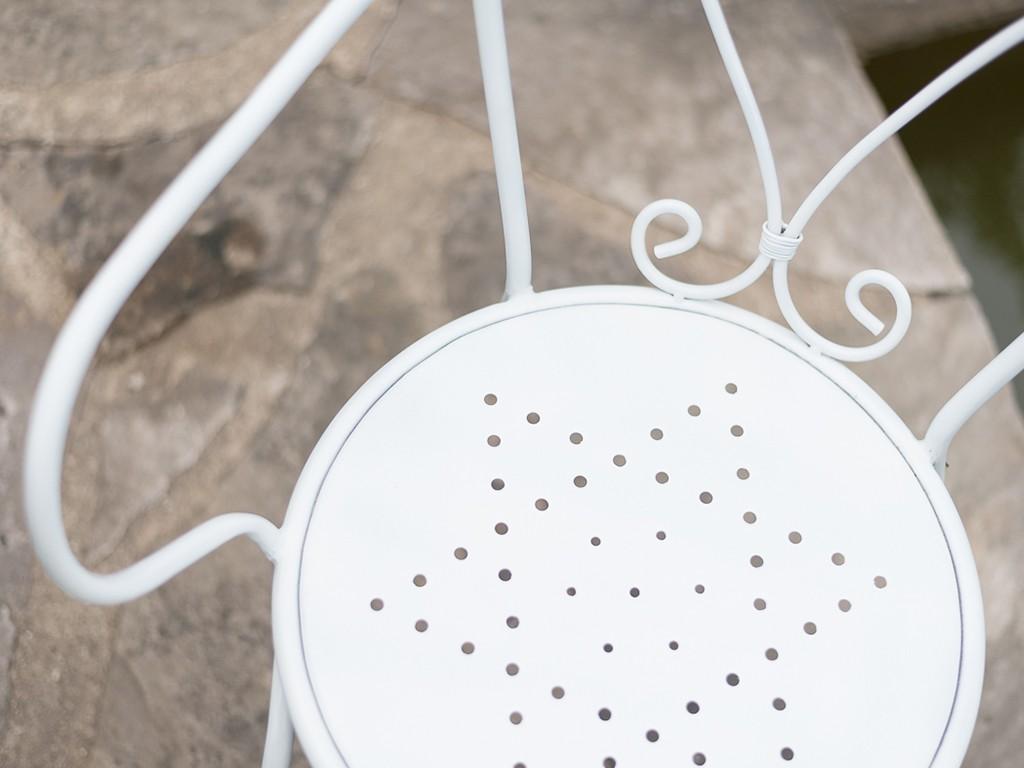 Anleitung: Gartenstuhl aus Metall lackieren