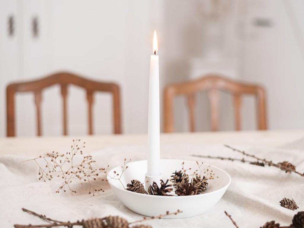 DIY Anleitung für einen Kerzenteller